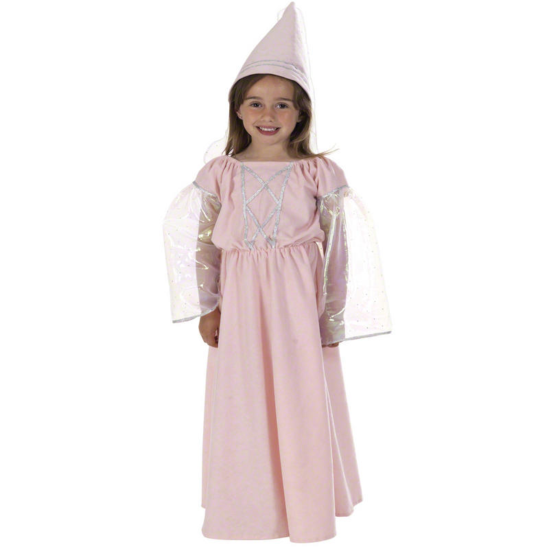 Childrens Princess Fancy Dress Costume Fairy Tale Outfit 128Cm 6-8 Years