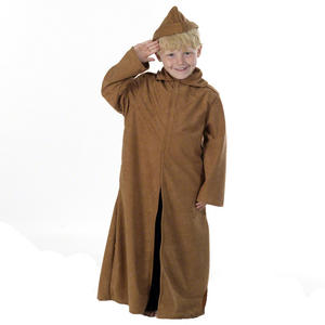 Childrens Ww1 Tan Trench Coat Soldier Fancy Dress Costume Outfit 152Cm 10-12 Years