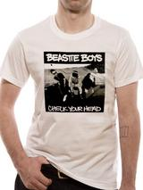 Beastie Boys Check Your Head Mens T-Shirt Licensed Top White 2XL