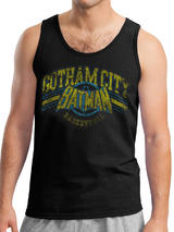Batman Gotham Basketball (Unisex Vest) Vest Licensed Top Black M