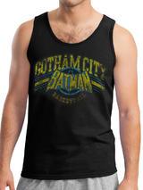 Batman Gotham Basketball (Unisex Vest) Vest Licensed Top Black L