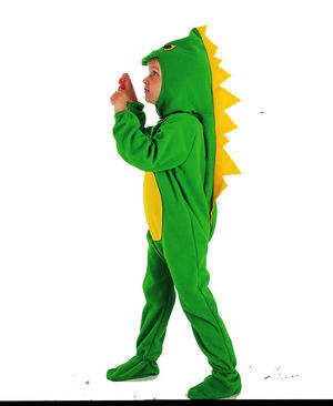 Childrens Dinosaur Fancy Dress Costume Jurassic Park Boys Kids Outfit 2-3 Yrs