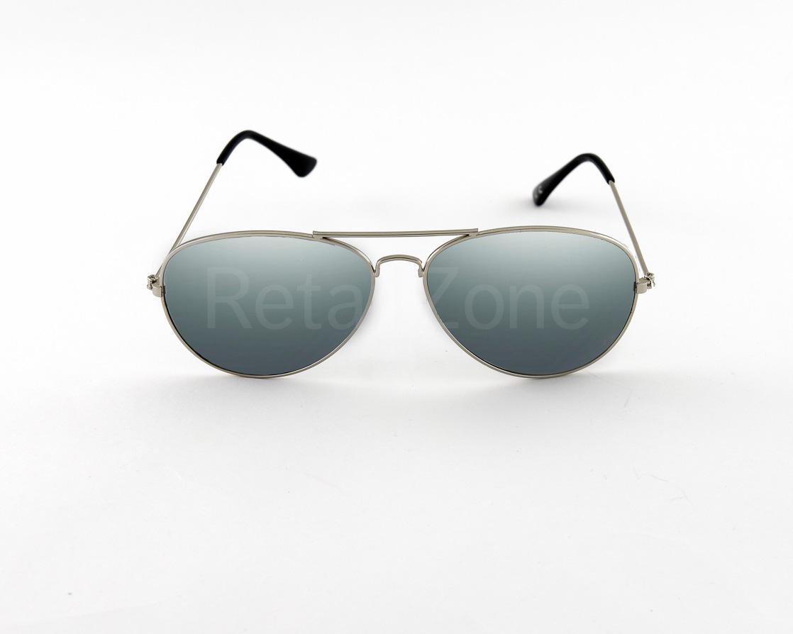 e0e0c05d37 Sentinel Silver Mirror Mirrored Retro Designer Sunglasses Mens Ladies  Avitor 80s Fashion