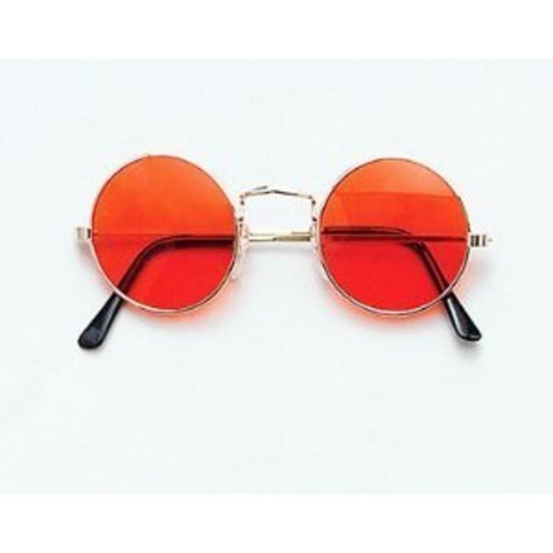 c687661b6d4 Orange John Lennon Style Sunglasses Hippy 70 s 80 s Fancy Dress Glasses.  zoom Hover or click to enlarge. 1