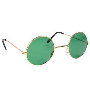 Green John Lennon Style Sunglasses Ozzy Osbourne Hippy 70's 80's Fancy Dress
