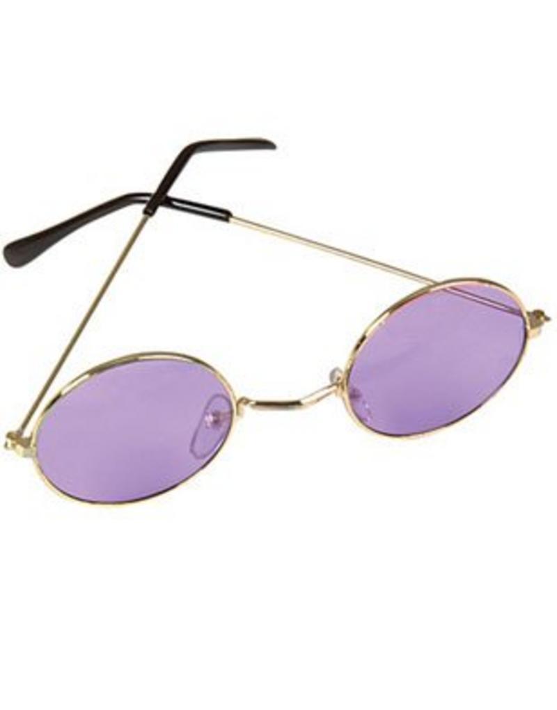 Purple John Lennon Style Sunglasses Ozzy Osbourne Hippy 70/'s 80/'s Fancy Dress