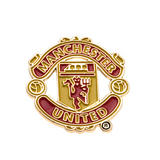 Manchester United Fc Man Utd Club Crest Logo Lapel Pin Badge - Official