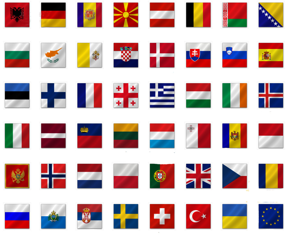 large 5x3 european country flag flags 5ftx3ft all europe countries