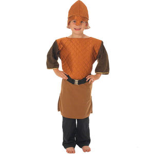Childrens Viking Boy Fancy Dress Costume Viking Age Outfit 140Cm 8-10 Years