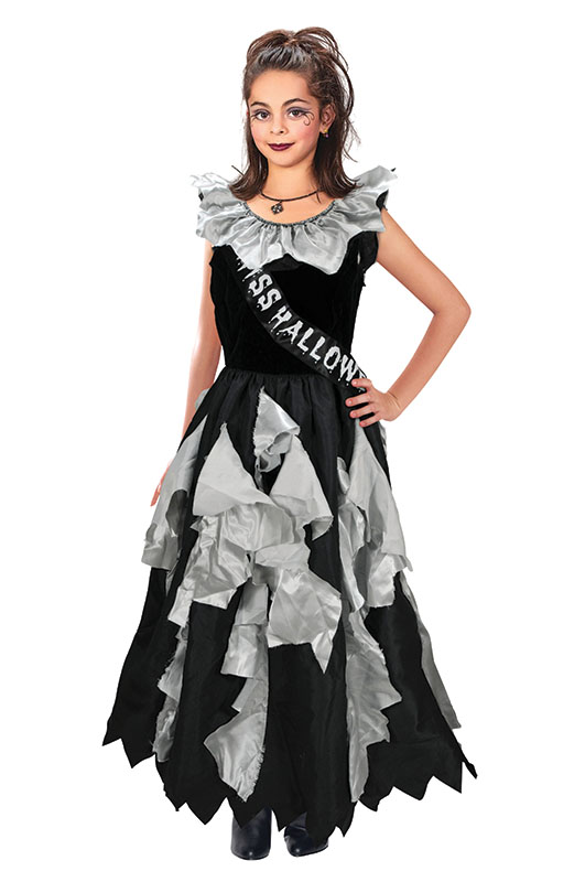 Sentinel Childrens Zombie Prom Queen Halloween Fancy Dress Costume Girls Outfit 11-13 Yrs  sc 1 st  eBay & Childrens Zombie Prom Queen Halloween Fancy Dress Costume Girls ...