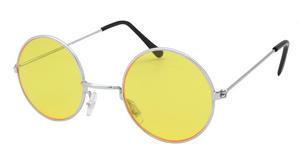 Yellow John Lennon Style Sunglasses Hippy 70's 80's Fancy Dress Glasses