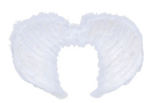 White Feather Angel Wings Childrens Kids Fancy Dress