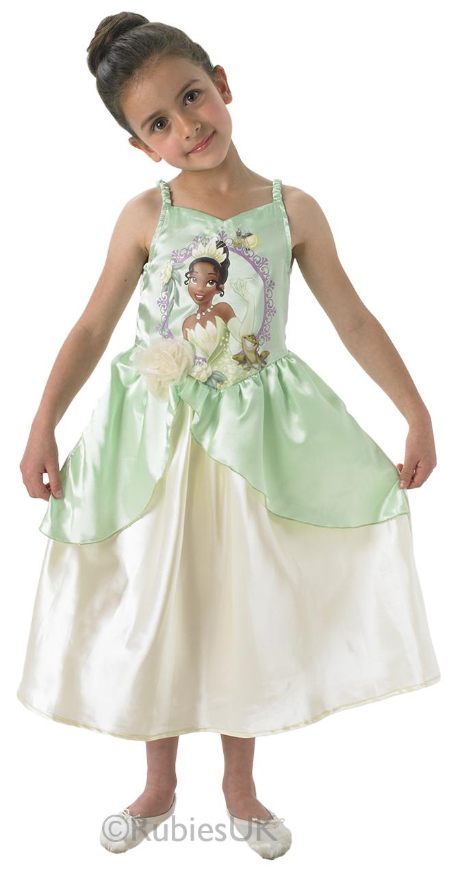 Sentinel Official Rubies Tiana Disney Princess Fancy Dress Costume Childrens S  sc 1 st  eBay & Official Rubies Tiana Disney Princess Fancy Dress Costume Childrens ...