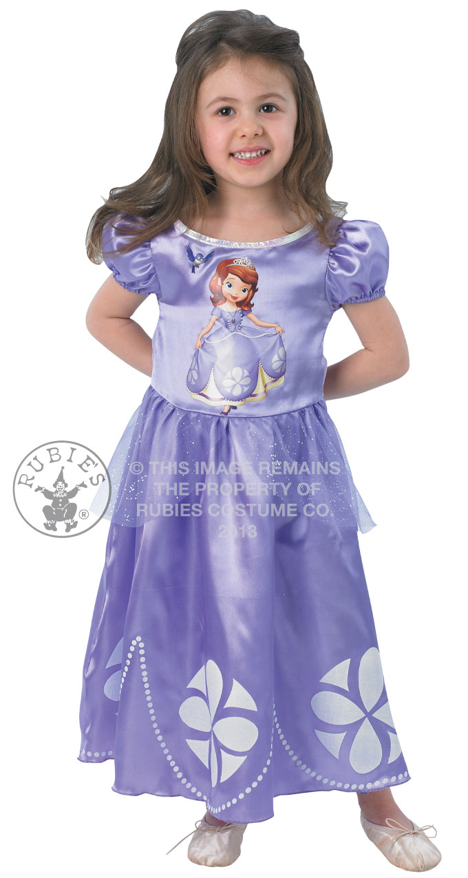 rubies sofia the first disney princess fancy dress costume childrens