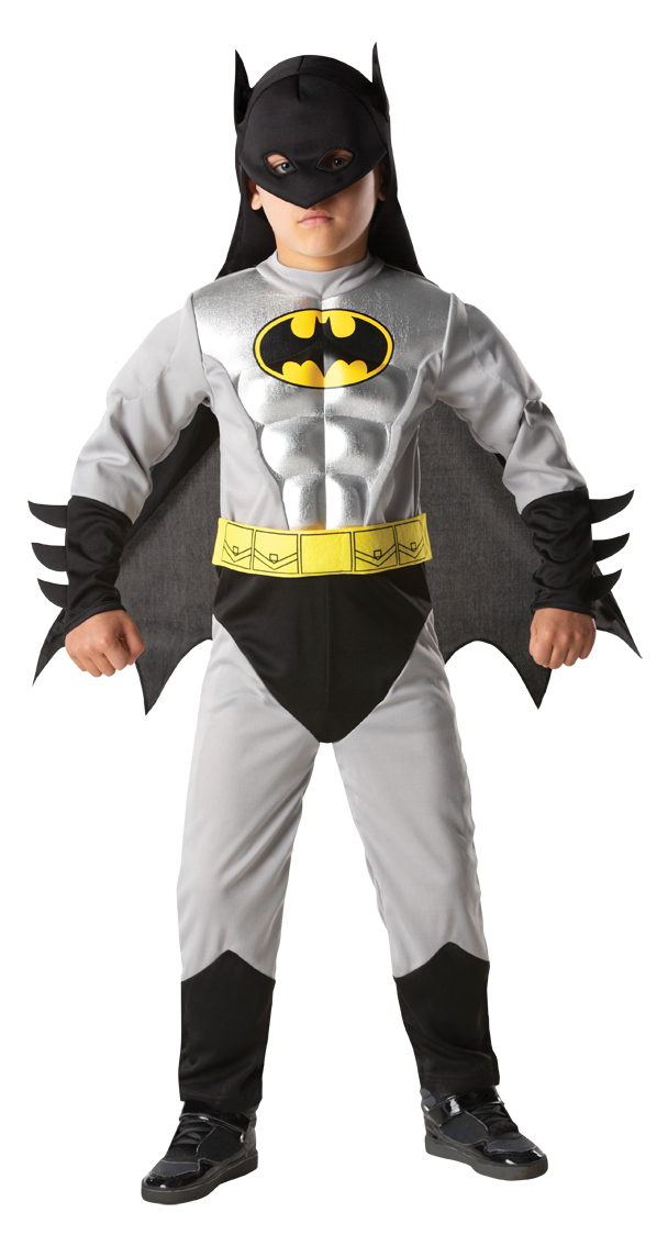 Childrens Batman Costume Dress Super Hero Dc Comic Halloween. Che Guevara  ... 2099dd2b3