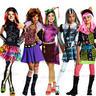 Childrens Girls Monster High Fancy Dress Costume Outfit Halloween Book Week