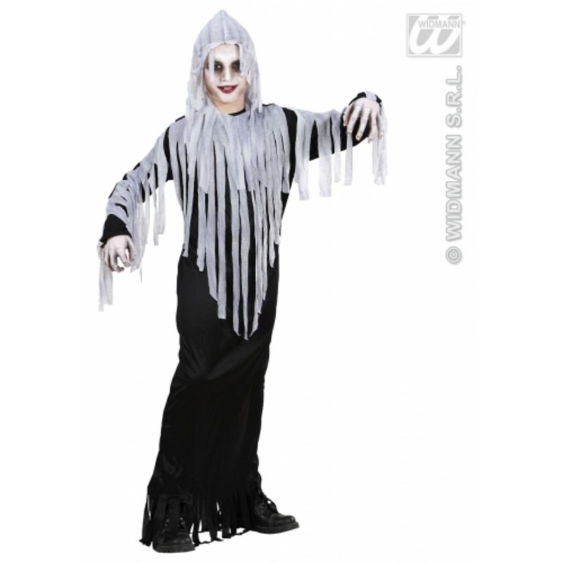 Childrens Ghost Monster Halloween Fancy Dress Costume 5-7 Yrs