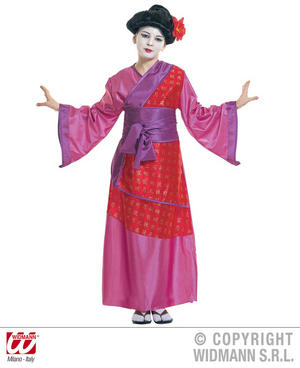 Childrens China Girl Fancy Dress Costume Oriental Chinese Outfit 128Cm