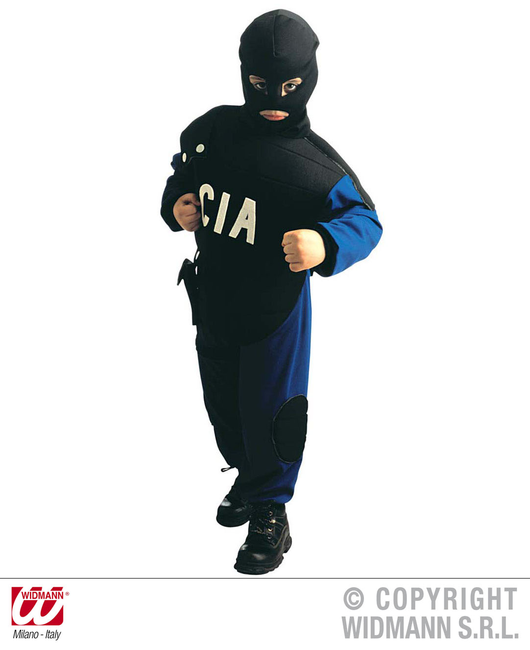 Childrens Cia Police Fancy Dress Costume American Outfit 140Cm