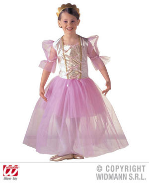 Childrens Ballerina Fancy Dress Costume 8-10 Yrs