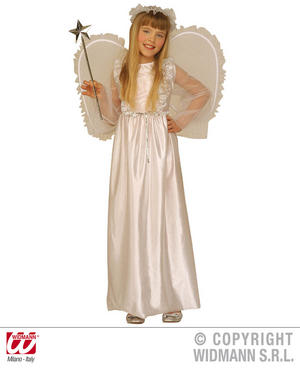 Childrens Angel Gabriel Fancy Dress Costume Christmas Nativity Play Outfit 158Cm