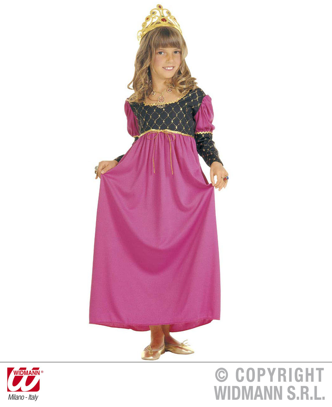 Childrens Royal Queen Fancy Dress Costume Princess Regal Outfit 158Cm