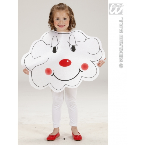 Childrens Cloud Fancy Dress Costume Tabard Outfit 116cm