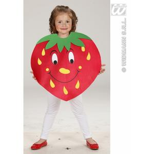 Childrens Red Strawberry Fancy Dress Costume 116Cm Outfit