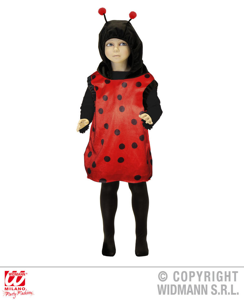 Childrens Ladybird Fancy Dress Costume Lady Bug Insect Bugs Life Outfit 3-5 Yrs