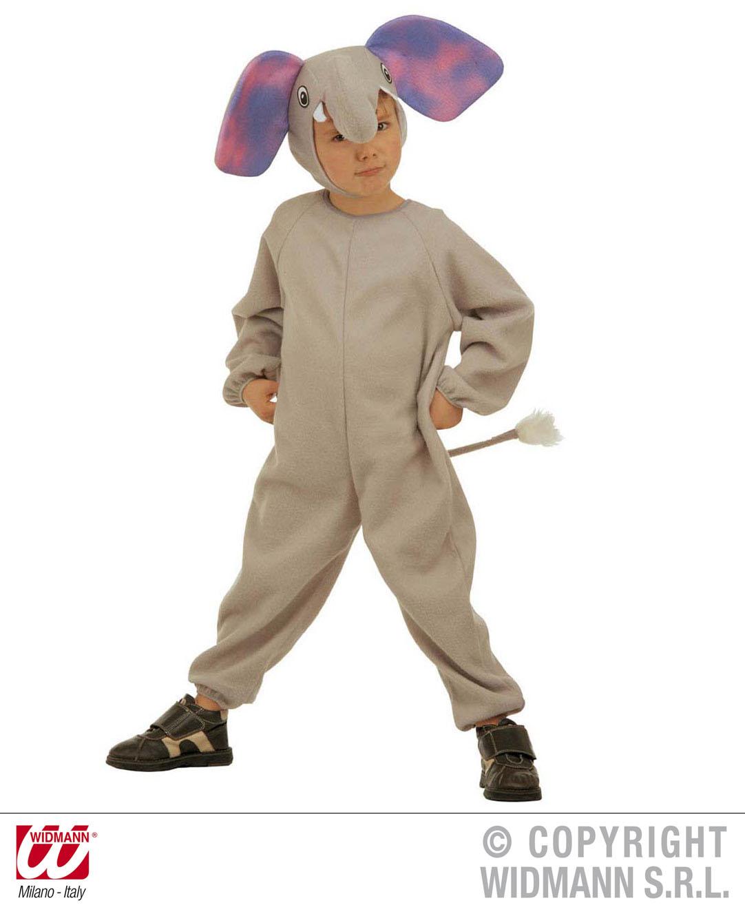 childrens elephant fancy dress costume safari animal nelly