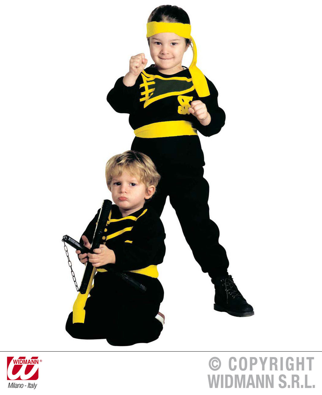 Boys Karate Kid Costume Outfit for Ninja Fancy Dress