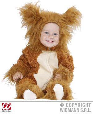 Fuzzy Lion Baby Fancy Dress Costume 0-6 Months Childrens Outfit