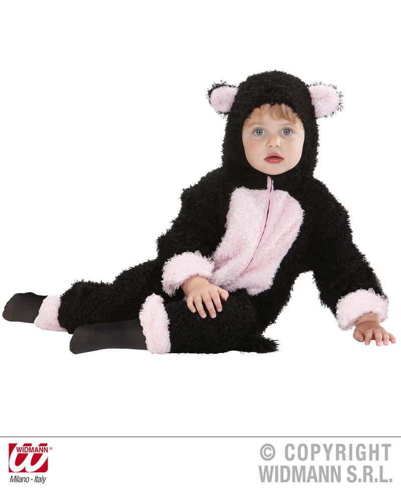 Fuzzy Cat Baby Fancy Dress Costume 1-2 Yrs Childrens Outfit