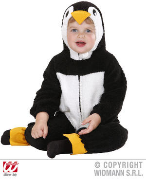 Fuzzy Penguin Baby Fancy Dress Costume 12-24 Months Childrens Outfit