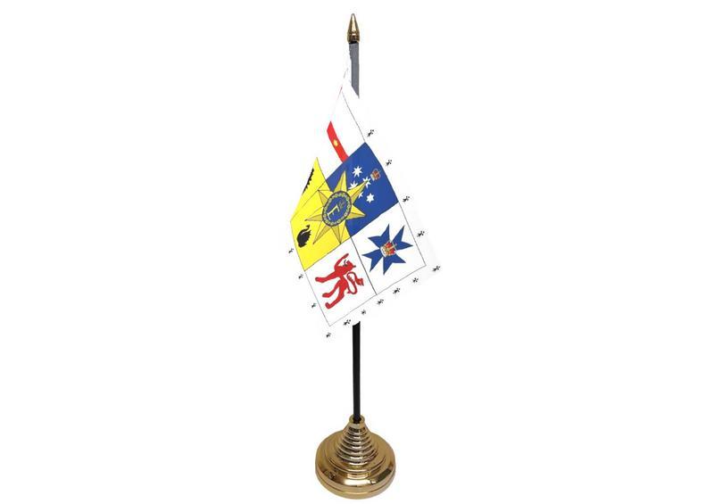 Australian Royal Standard Hand Table or Waving Flag