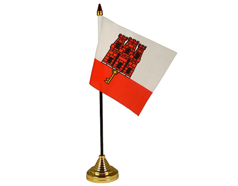 Gibraltar Hand Table or Waving Flag