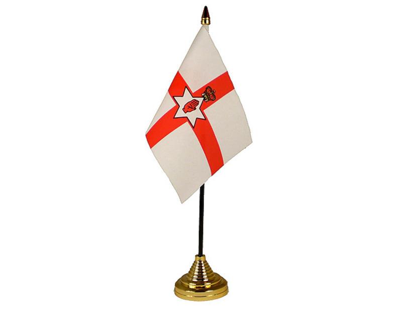 Northern Ireland Hand Table or Waving Flag