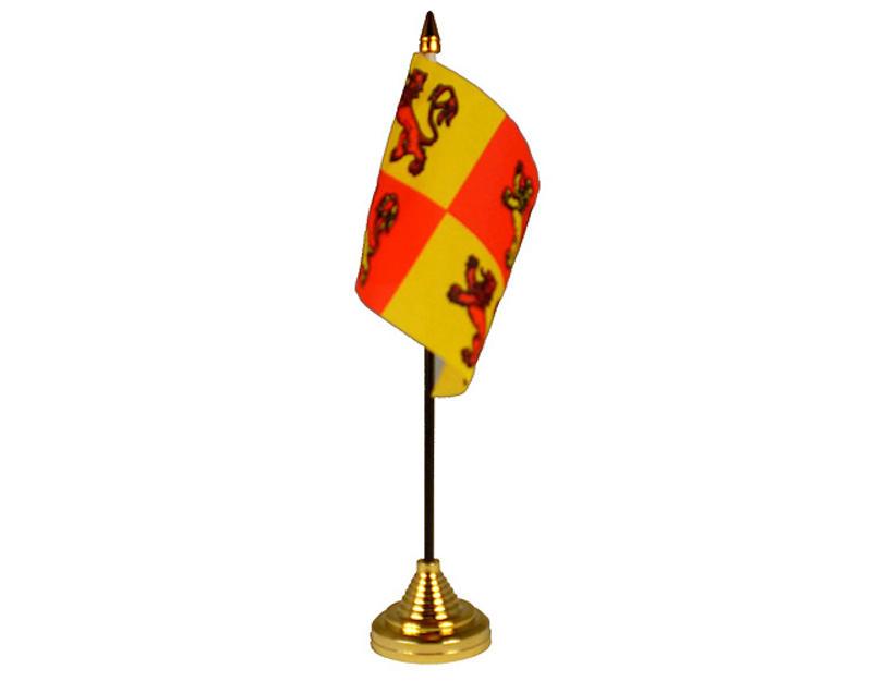 Owain Glyn Dwr Hand Table or Waving Flag