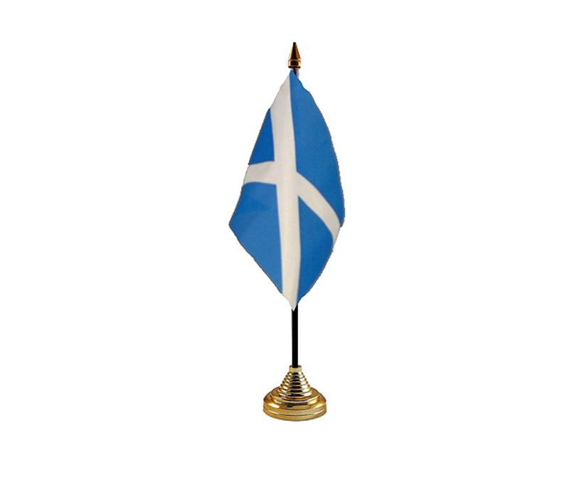 St Andrews Light Blue Hand Table or Waving Flag Scotland Scottish