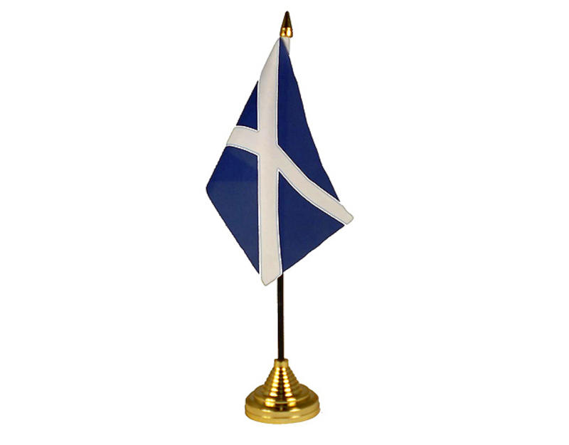 St Andrews Navy Blue Hand Table or Waving Flag Scotland Scottish