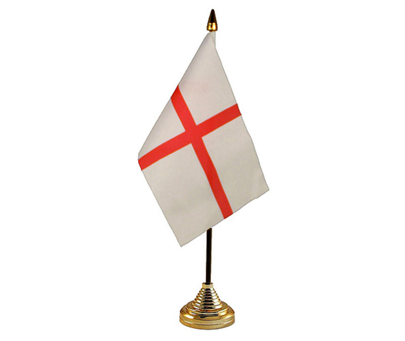 St George Hand Table or Waving Flag Englad St Georges Day