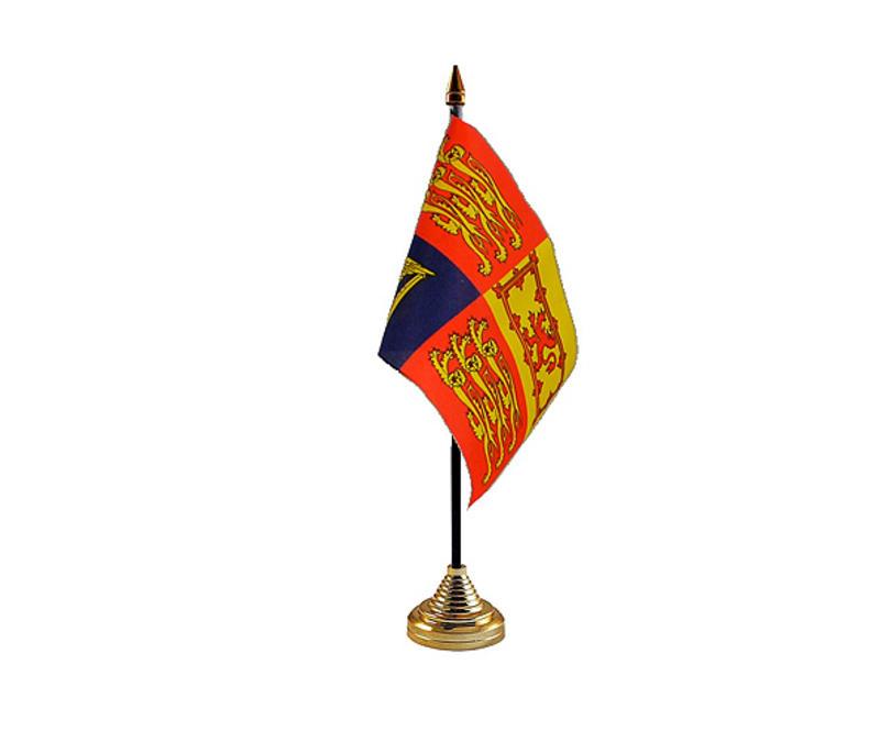 UK Royal Standard Hand Table or Waving Flag