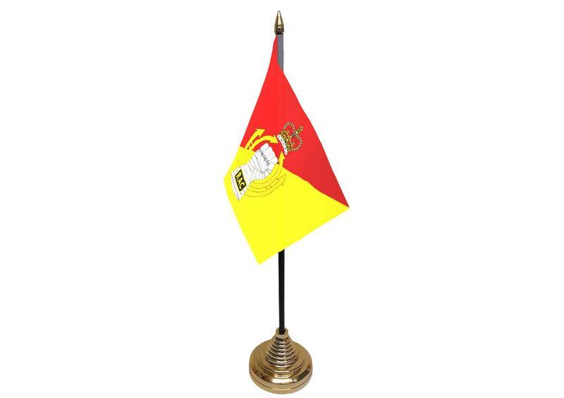 Royal Armoured Corps Hand Table or Waving Flag