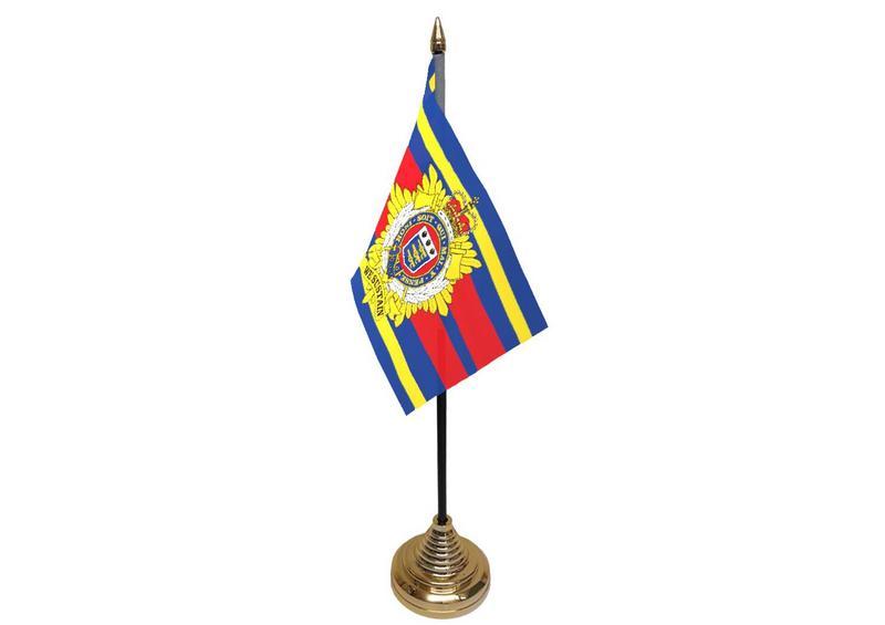 Royal Logistics Corps Hand Table or Waving Flag