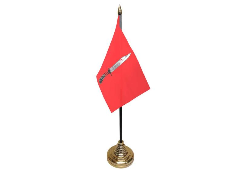 Infantry Corps Hand Table or Waving Flag