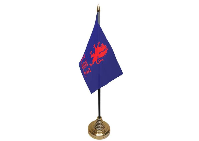 Royal Welch Fusiliers Hand Table or Waving Flag