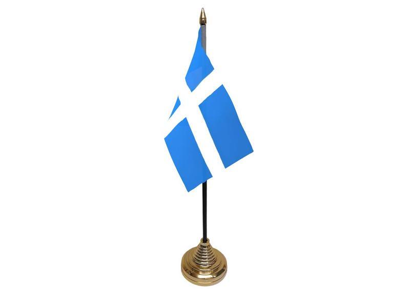 Shetlands Hand Table or Waving Flag