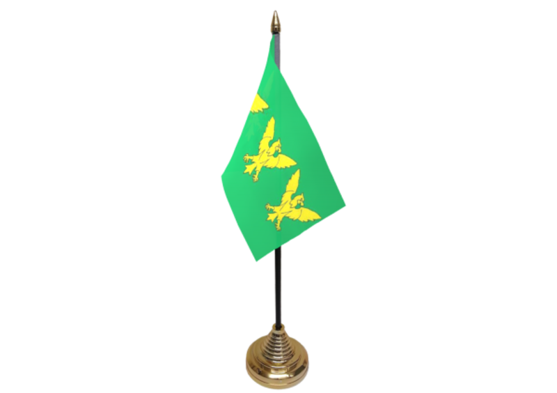 Caernarfonshire Hand Table or Waving Flag