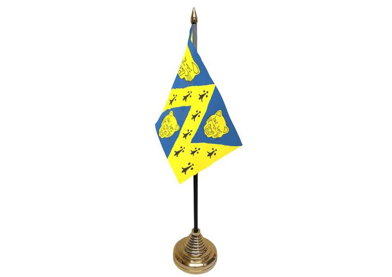 Shropshire Hand Table or Waving Flag (New Style) English County