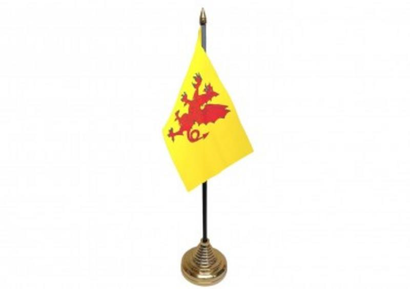 Somerset Hand Table or Waving Flag (New Style) English County